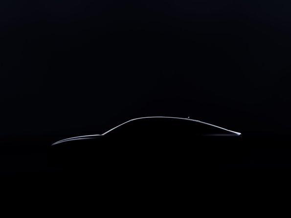 Foto Silhouette des neuen Audi A7 Sportback
