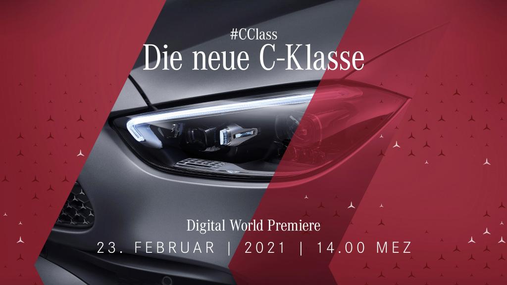 Weltpremiere der neuen C-Klasse