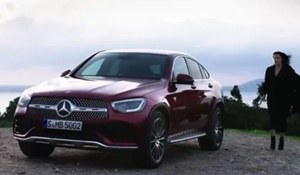 GLC Coupe parkend